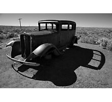 Old Vehicle VI BW Photographic Print