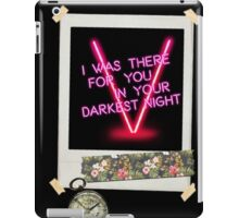 Following The Map That Leads To You iPad Case/Skin