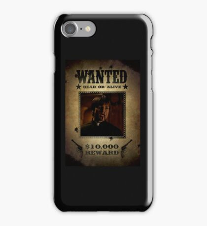 Buffy Caleb Nathan Fillion Wanted 4 iPhone Case/Skin