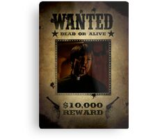 Buffy Caleb Nathan Fillion Wanted 4 Metal Print