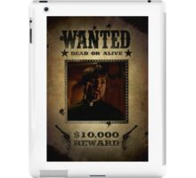 Buffy Caleb Nathan Fillion Wanted 4 iPad Case/Skin