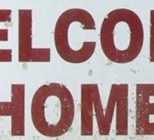 Welcome Home to Aldersgate Sticker