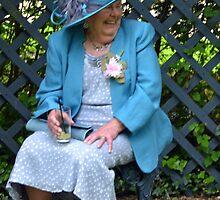Lady In Blue............ by lynn carter