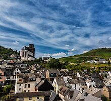 Small Town of Oberwesel by aaronchoi