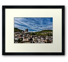 Small Town of Oberwesel Framed Print