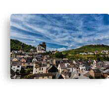Small Town of Oberwesel Canvas Print