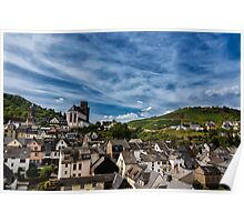 Small Town of Oberwesel Poster