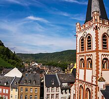 View of Bacharach by aaronchoi