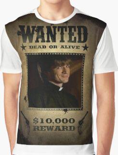 Buffy Caleb Nathan Fillion Wanted 5 Graphic T-Shirt
