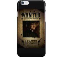 Buffy Caleb Nathan Fillion Wanted 5 iPhone Case/Skin