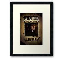 Buffy Caleb Nathan Fillion Wanted 5 Framed Print