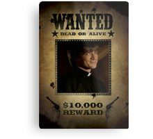 Buffy Caleb Nathan Fillion Wanted 5 Metal Print
