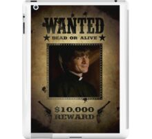 Buffy Caleb Nathan Fillion Wanted 5 iPad Case/Skin
