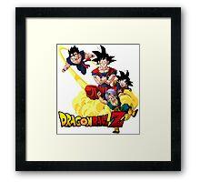 Dragon Ball Framed Print