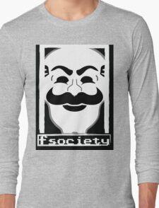 F*** Society! - Mr. Robot - Long Sleeve T-Shirt