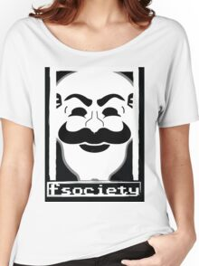 F*** Society! - Mr. Robot - Women's Relaxed Fit T-Shirt