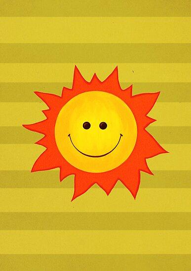Happy Smiling Sun by Boriana Giormova