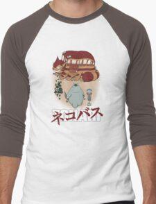 Tonari Ride Men's Baseball ¾ T-Shirt