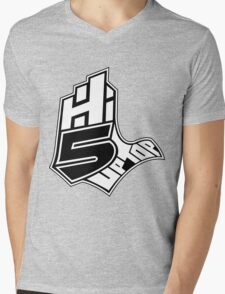 Hi-5 Up Top 2 Mens V-Neck T-Shirt
