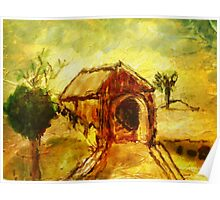 The Old Covered Bridge Poster