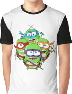 Teenage Minion Ninja Turtles Graphic T-Shirt