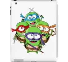 Teenage Minion Ninja Turtles iPad Case/Skin