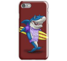 Live to surf iPhone Case/Skin