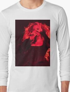 QUEEN B - Red  Long Sleeve T-Shirt