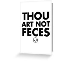 You Ain't Shit: Old English Greeting Card