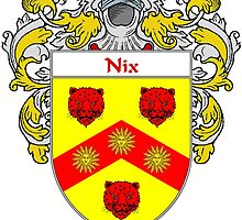 Nix Coat of Arms/Family Crest by William Martin