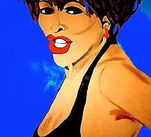 Tina Turner Private Dancer by Saundra Myles