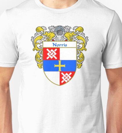Norris Coat of Arms/Family Crest Unisex T-Shirt