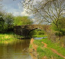 Bridge 1 - Ashby Canal by SimplyScene