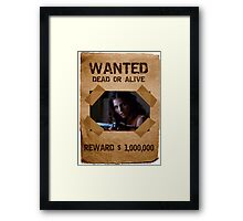 Buffy Cordelia Wanted 1 Framed Print
