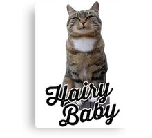 HAIRY BABY CATS Canvas Print
