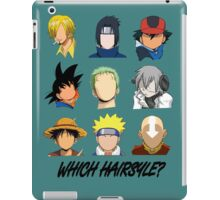 Which Hairstyle? iPad Case/Skin