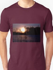 Dawn Through the Reeds Unisex T-Shirt
