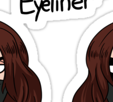 winter beauty queen Sticker