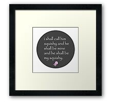 Finding Nemo design Framed Print