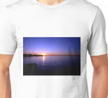 Sunset at Baypoint, New Jersey Unisex T-Shirt
