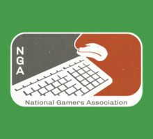 National Gamers Association (retro) Kids Clothes