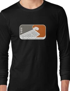 National Gamers Association (retro) Long Sleeve T-Shirt