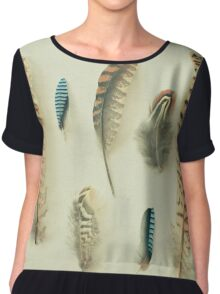 The Feather Collection Chiffon Top