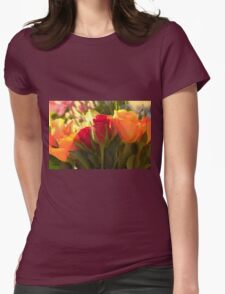 Bouquets, As Is Womens Fitted T-Shirt