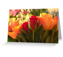 Bouquets, As Is Greeting Card