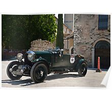 Mille Miglia 2014 - Bentley Blower Poster