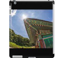 South Korean temple iPad Case/Skin