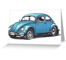 1957 Volkswagen Beetle Greeting Card