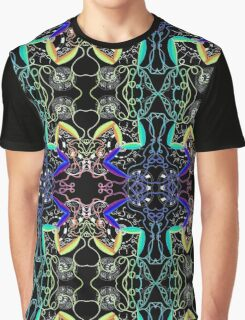 Psychedelic Abstract colourful work 59 Graphic T-Shirt