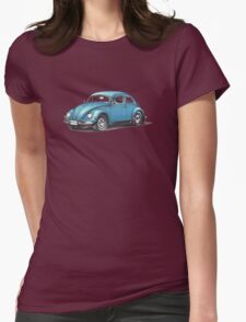 1957 Volkswagen Beetle Womens Fitted T-Shirt